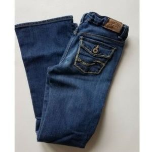 Girls Levis skinny flare fit jeans 12